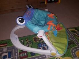 Fisher Price Sit Me Up Floor Seat (Frog)