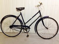 BSA city bike in beautiful vintage condition