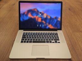 """Apple MacBook Pro with Retina display 15.4"""" Laptop - (April 2015)"""