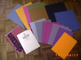 A3 A4 cartridhe pads + coloured papers Bristol (Oldland Common)