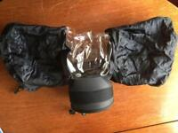 Large wet weather lens cover