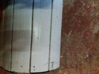 Electric roller shutter garage double door