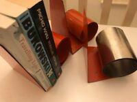 Metal Bookends (sprung)