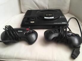 Saga Megadrive + 2 controllers