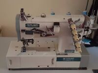 Selling industrial sewing machines.
