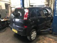 Vauxhall Meriva Breaking For Spares 1.6 04 05 06 black