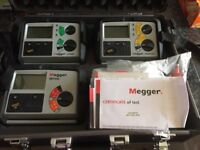Avo megger electricians complete test kit