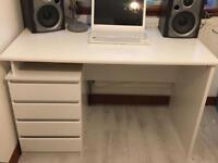 Desk with ikea stool