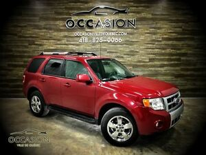 2010 Ford Escape Limited 3.0L 4X4 CUIR TOIT OUVRANT