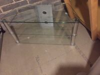 """TV Stand glass to suite TV from 31""""to 46"""""""