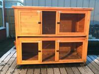 2 Storey Rabbit Hutch for sale