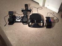 Saitek Pro Flight Yoke, Throttle and Pedals