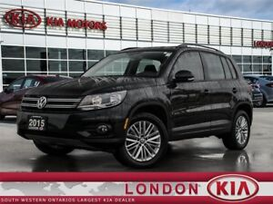 2015 Volkswagen Tiguan Special Edition AWD - BLUETOOTH, BACK-UP