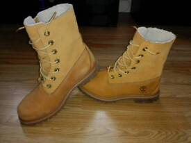 Timberlands size 6. 39 europe