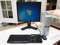 Dell Dimension 5150c with monitor, keyboard and miuse