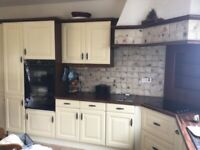 Kitchen Cupboards and Appliances