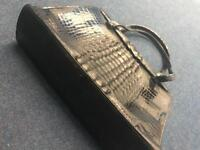Real crock leather bag / purse