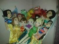 Disney Store Princess Plushes