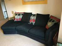 MUST GO THIS WEEK! Sofa - 3 seater, with sofa-bed and storage