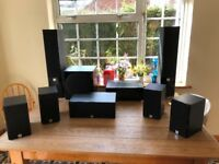 Home Theatre Yamaha/Dali 7.1 Sound System