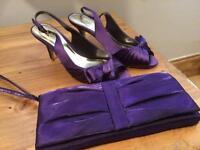 Size 4 Roland Cartier Heels & a Debut Handbag Brand New