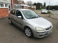 2004 Vauxhall Corsa 1.3 Cdti 5 door 12 months mot/3 months parts and labour warranty