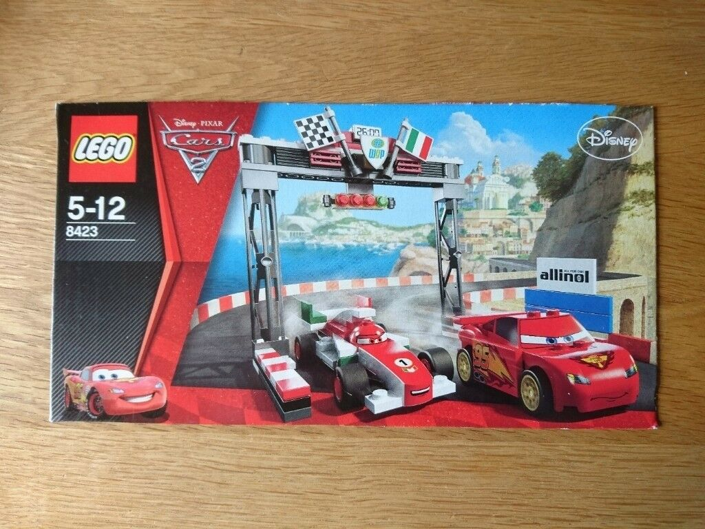 Lego Cars 8423 World Grand Prix Racing Rivalry As New Condition