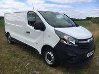 2015 Vauxhall Vivaro 1.6 CDTI 2900 115bhp LWB Trafic NO VAT