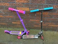Two Girls scooters