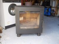 large woodburning stove