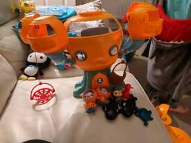 Octonauts toys x2