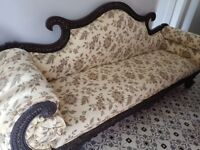 Wooden sofa suite