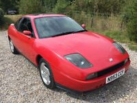 Fiat Coupe 16v Turbo 1995cc Turbo Petrol 5 speed manual 2 door coupe N Reg 10/07/1996 Red