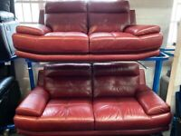 NEW - EX DISPLAY ScS ISLINGTON LEATHER 3 + 2 SEATER SOFAS SOFA, 70%Off RRP