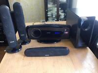 SAMSUNG HT-XQ100 HOME THEATER SURROUND SYSTEM CD/MP3/TURNER/AUX/USB PLAYER SMETHWICK £55