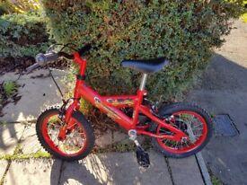 """Dunlop Sport Boy Racer 14"""" Wheel Boys Bike (age 4-6 years)"""