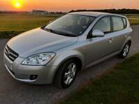 Kia C'eed SR7, 2009, petrol, 69,500miles, one owner