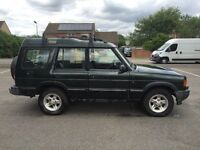 Land Rover discovery 300tdi green