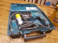 Makita hammer drill rotary action and transformer