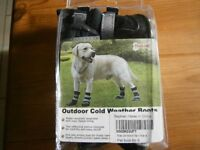 FULL SET OF 4 DOG BOOTS - BRAND NEW SIZE SMALL