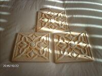 Decorative hanging tiles. Set of 3