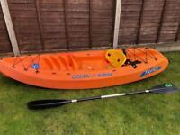Ocean kayak Frenzy sit on