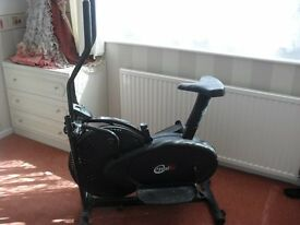 CrystalTec Crosstrainer and Exercise bike