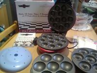 Sweet snack maker, excellent condition, makes donuts, cake pops and cupcakes