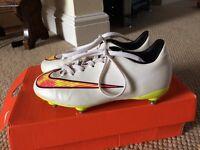 Boys Nike football boots size 1