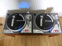 2 x Vestax PDX-D3S DJ Turntables (Almost Mint Condition) On par with Technics