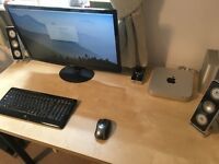 "Mac Mini 1.4Ghz Intel Core i5 4GB RAM 512GB HDD with 24"" LED Monitor, Speaker System and Periferals"