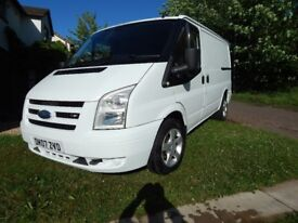 2007 FORD TRANSIT VAN T260 SWB LOW ROOF IN FULL WHITE COLOUR CODED 07 VAN
