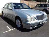 Mercedes E240 2.6 elegance auto. 110K mileage. 12 MONTHS MOT