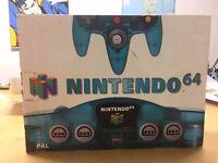 Boxed Blue Funtastic Nintendo 64 Console (N64) £150.00